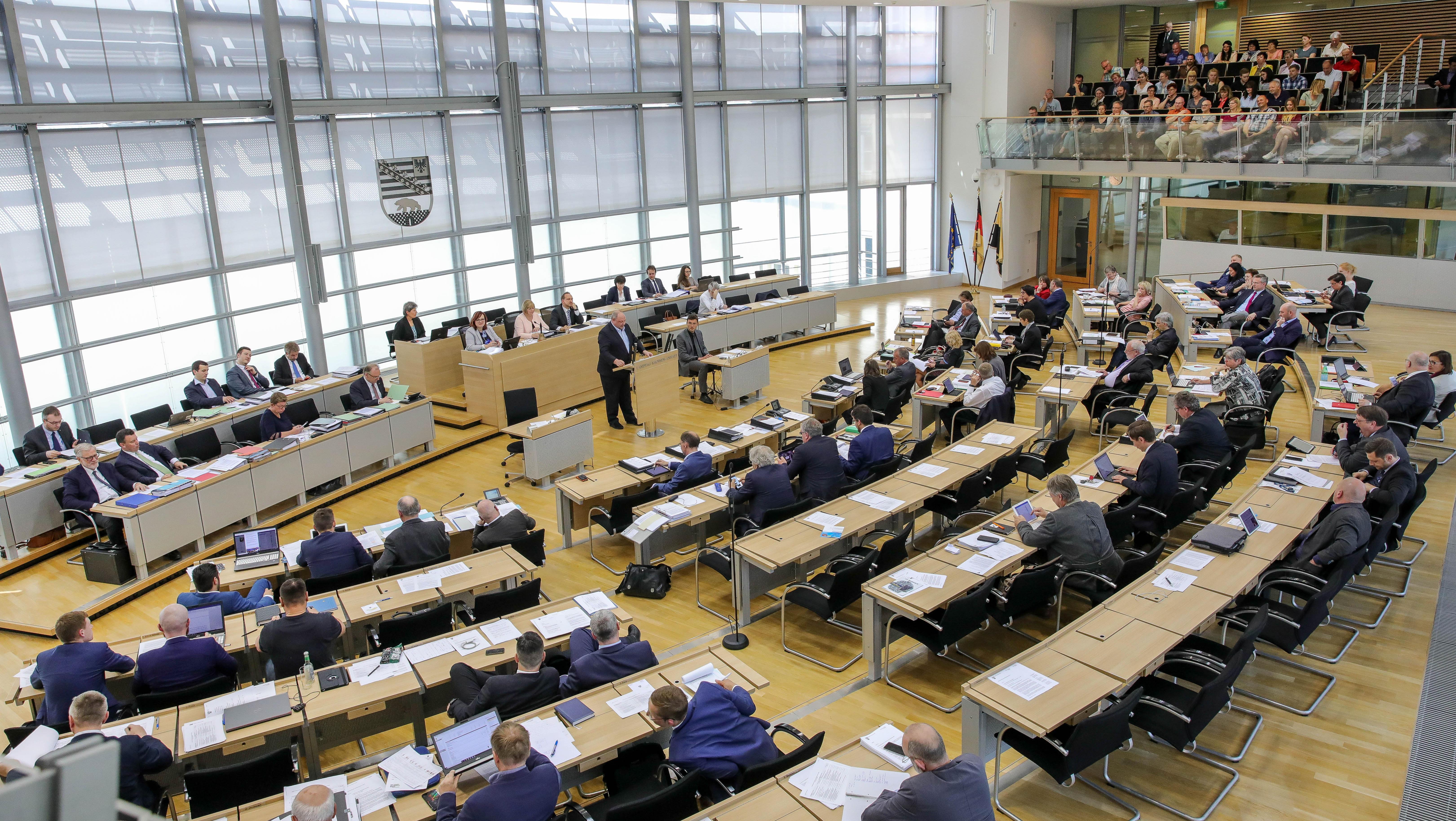 Landtag Sachsen-Anhalt: Plenum